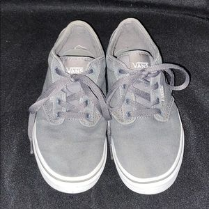 VANS youth grey sneakers